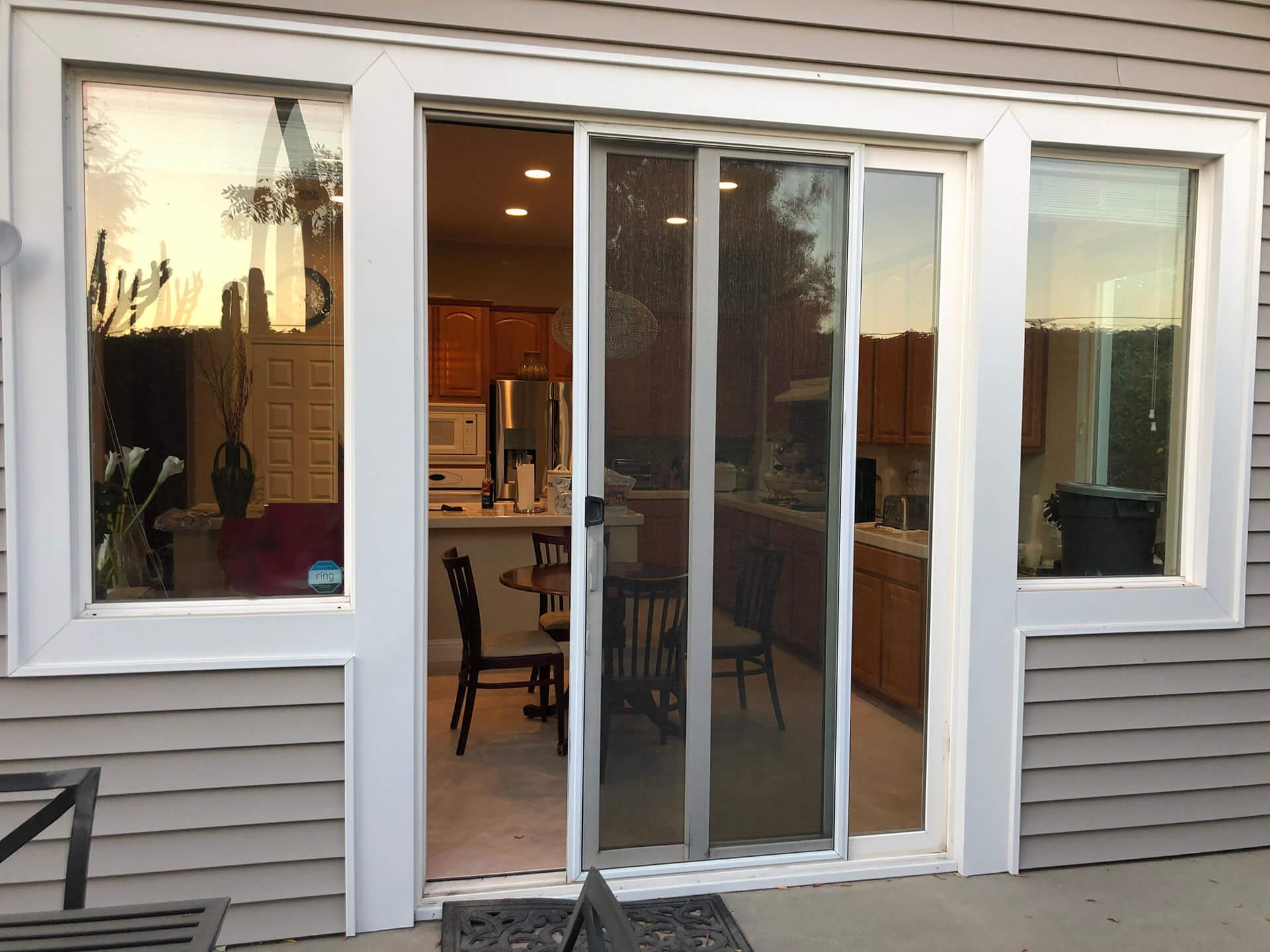 400 SERIES ANDERSEN-OUTSWING FRENCH DOOR-before