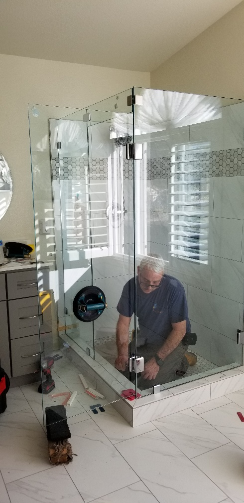 Frameless Shower 48 Southgate Glass