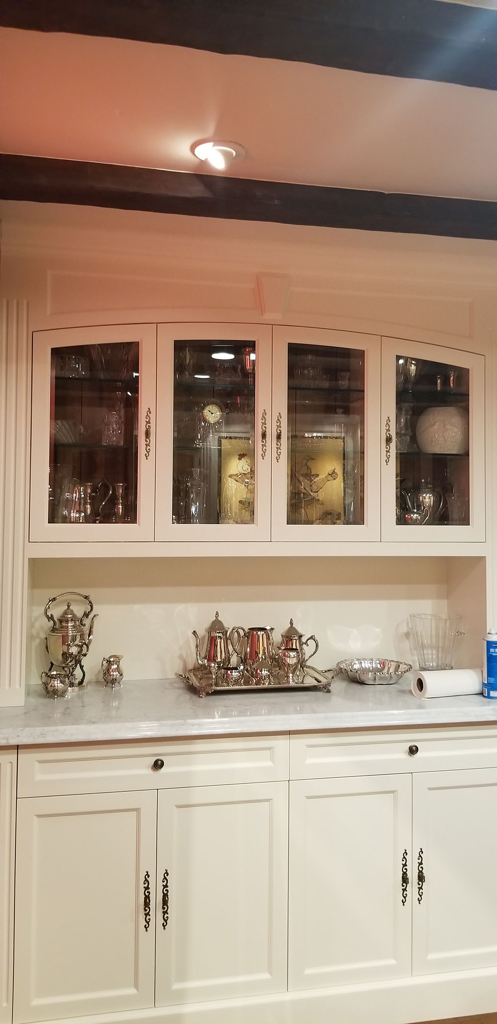 before and after cabinet glass 2