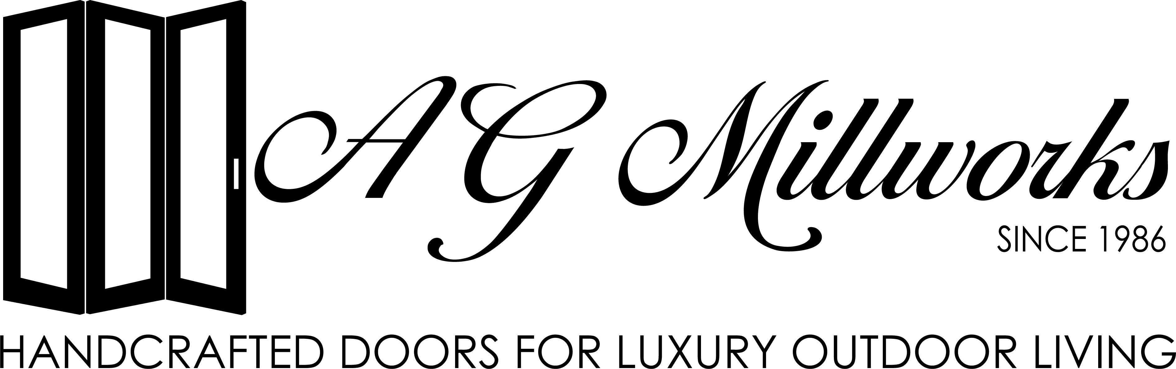 WHITE AG Logo – Handcrafted Doors – CAPS